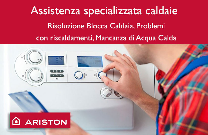 Revisione caldaie Ariston Roma