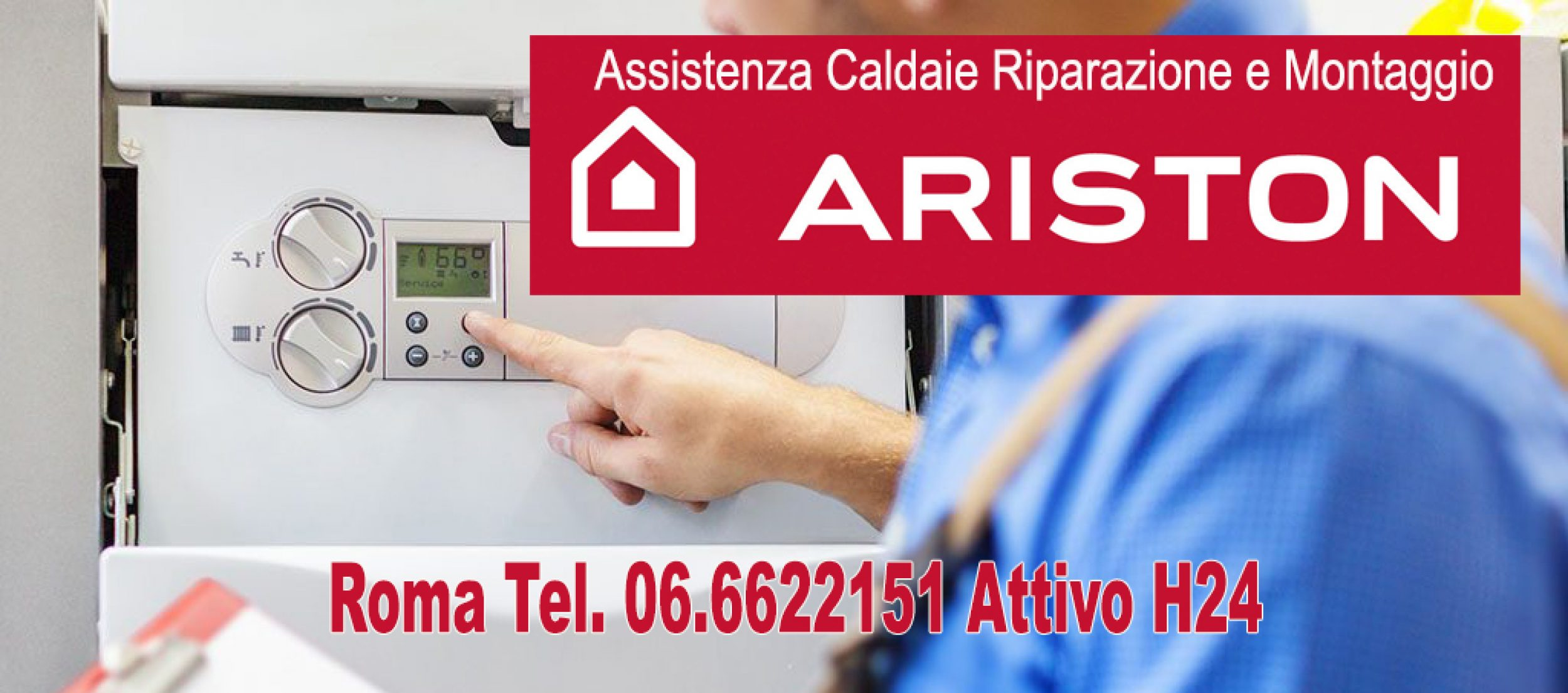 Assistenza caldaie Ariston Roma Tel. 06.6622151